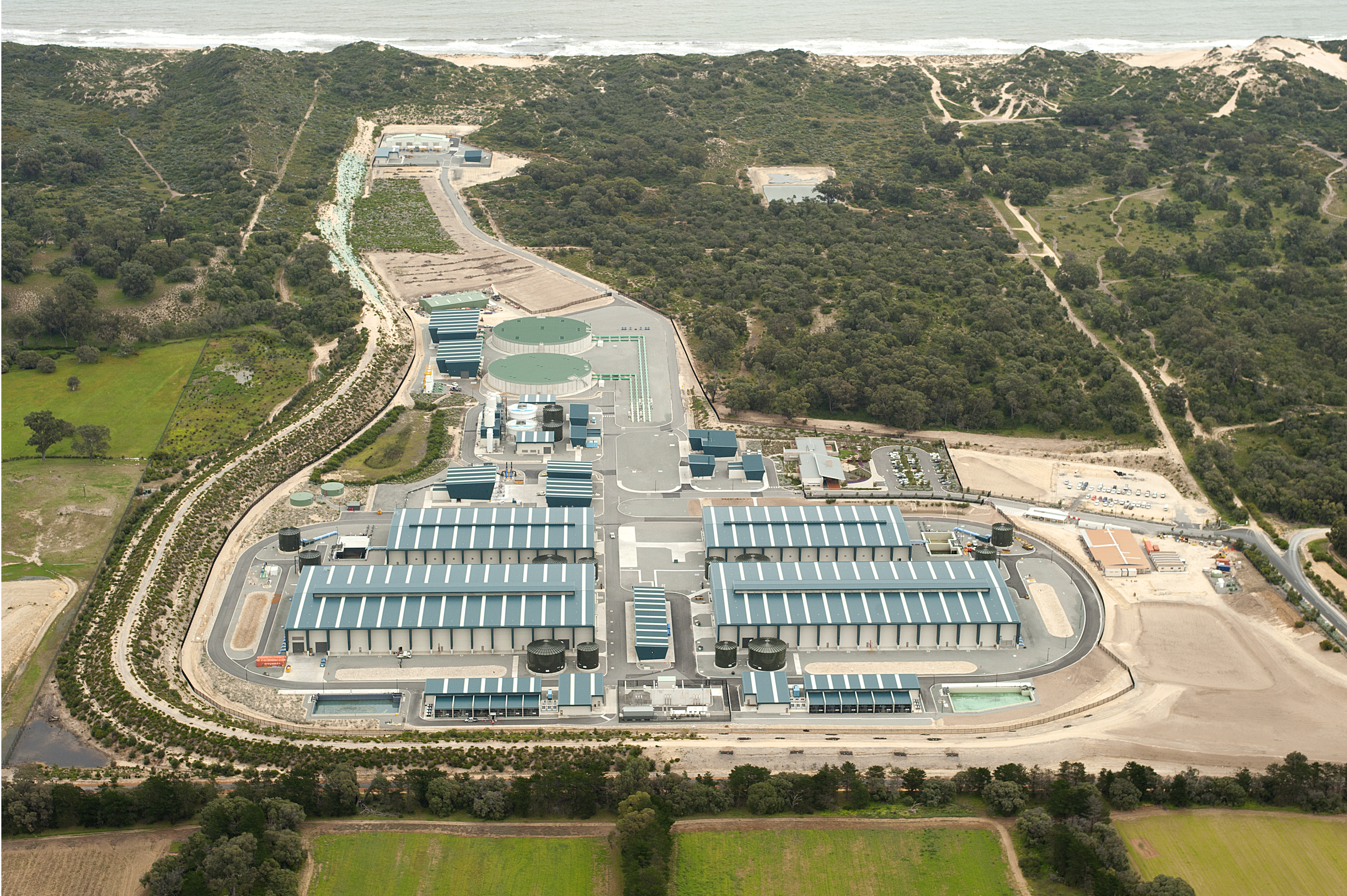 Southern Seawater Desalination Plant SPIN